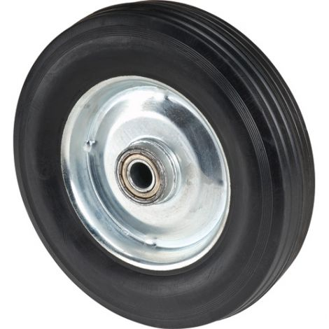 """Hand Truck Replacement Wheel - Wheel: Rubber - Wheel Size: 8""""H x 2""""W -  Case/Qty: 10"""
