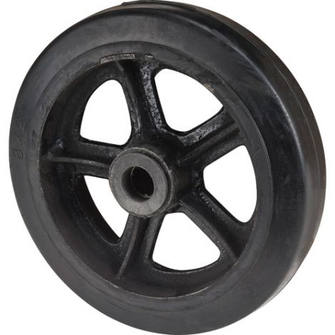 "Hand Truck Replacement Wheel - Wheel Diameter: 8"" (203 mm) - Case/Qty: 8"