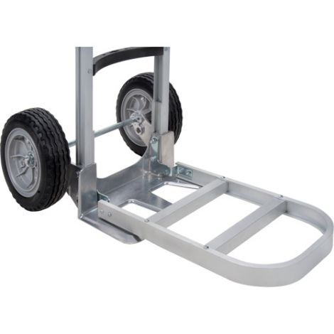 "Aluminum Hand Truck Nose Extension - Nose Plate Dimensions: 20""W x 13""D"