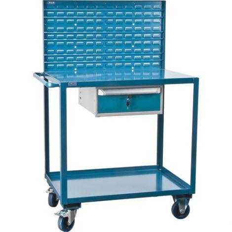 Mobile Service Cart - No. of Shelves: 2
