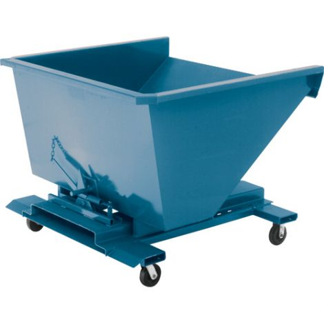 Steel Self-Dumping Hopper Without Casters - Capacity: 4 cu.yd.