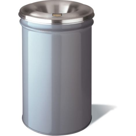 Cease-Fire® Waste Cans - Capacity: 30 US gal. - Material: Metal