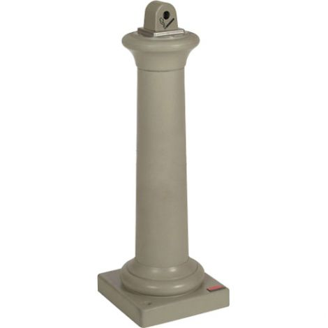 Groundskeeper Tuscan™ Cigarette Waste Collector - Colour: Sand Stone