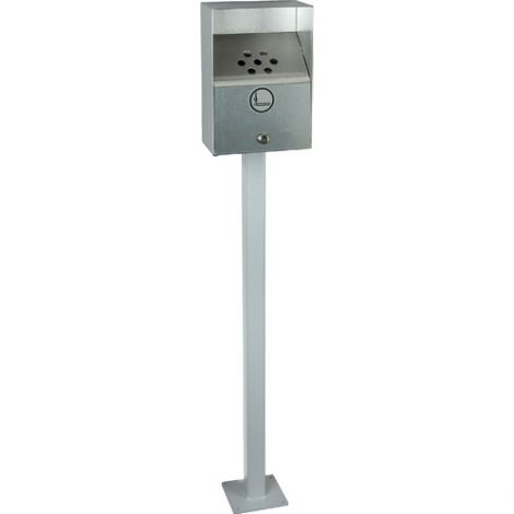 Exterior Smoking Receptacles - Capacity: 3.3 Litres - Ashtray (Without Cover)