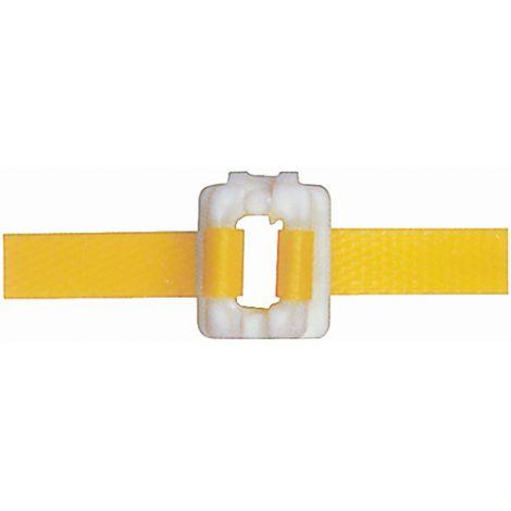 """Plastic Buckles - Fits Strap Width: 3/8"""" - Qty/Box: 2000"""