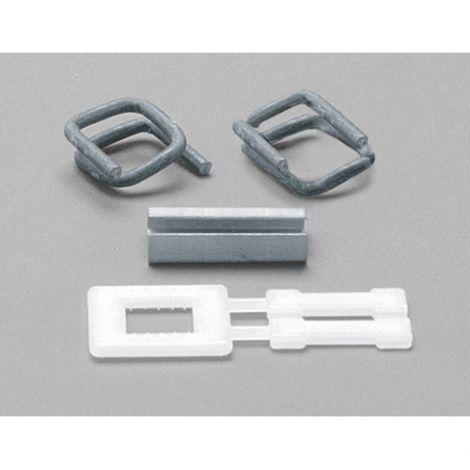 """Plastic Buckles - Fits Strap Width: 5/8"""" - Qty/Box: 2000"""