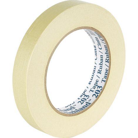"Highland™ 203 Masking Tape - Width"": 24 mm (1"") - Qty/Case: 60"