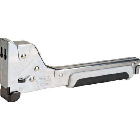 "Heavy-Duty Hammer Tacker - Staple Size: 5/16"", 3/8"", 1/2"""