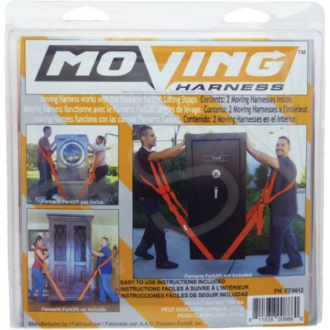 Forearm Forklift ® Harnesses - Two harnesses included per pack - Case/Qty: 2