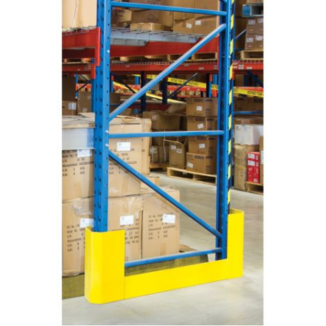 """Racking Aisle Protectors - Double Wrap - Overall Dimensions: 56-1/4""""L x - 3""""W x 12""""H"""