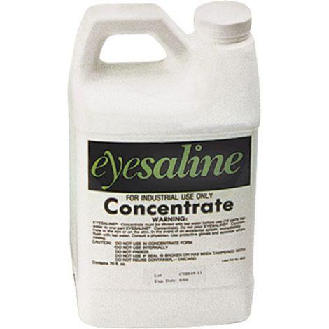 Eyesaline® Concentrate Eyewash Solution - Size: 70 oz. - Case/Qty: 3