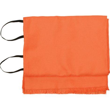 """Emergency Fire Blankets - ORANGE w/o Bag - Size: 72""""L x 72""""W"""