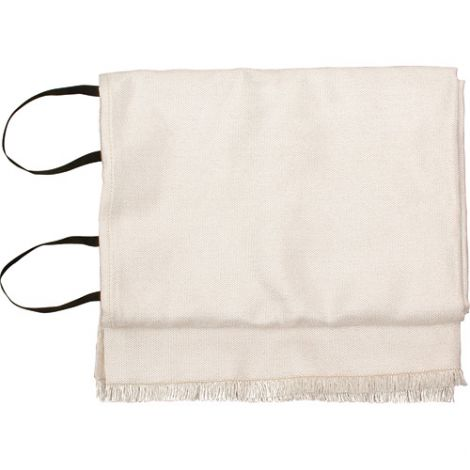 "Emergency Fire Blankets - WHITE w/Bag - Size: 72""L x 60""W"