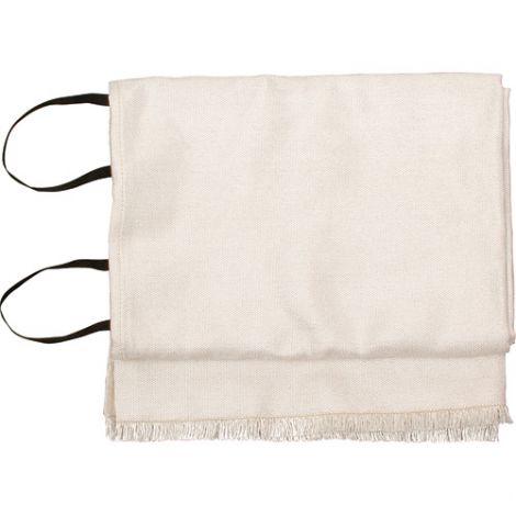 "Emergency Fire Blankets - WHITE w/o Bag - Size: 72""L x 60""W"
