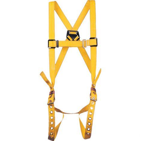 Durabilt Harnesses - Class: A - X-Large - D-Rings: Back - Leg Strap Connections: Tongue Buckle