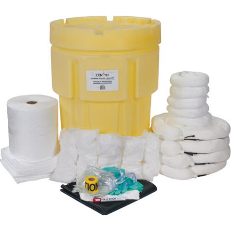 95-Gallon Industrial Spill Kits - Spill Type: Oil Only