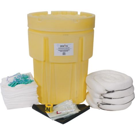 95-Gallon Economy Spill Kits - Spill Type: Oil Only