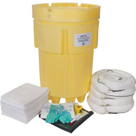 95-Gallon Economy Mobile Spill Kits - Spill Type: Oil Only