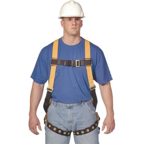 T-FLEX Titan™ Stretchable Harnesses - Class: A/P - D-Rings: Back /Side - Chest Strap Connections: Tongue Buckle