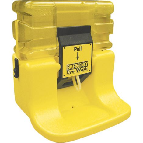 On-Site® Gravity-Fed Eyewash Station - Type: Gravity-Fed - Standard(s) Met: ANSI Z358.1 - Capacity: 7 gal.