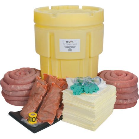 95-Gallon Hazardous Materials Spill Kits - Spill Type: Hazmat