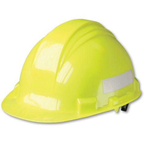 Traffic Safety Hard Hats - Colour: Yellow