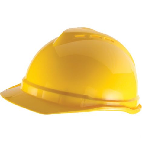 Advance® Vented Caps - Colour: Yellow