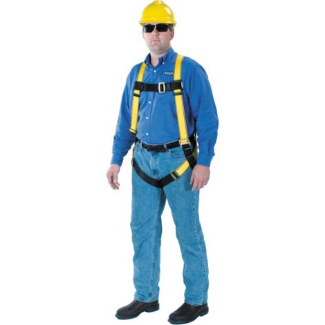 Workman™ Harnesses - Qwik-Fit™ Leg Straps - Size: Standard - D-Ring(s): Back - CSA Class: A