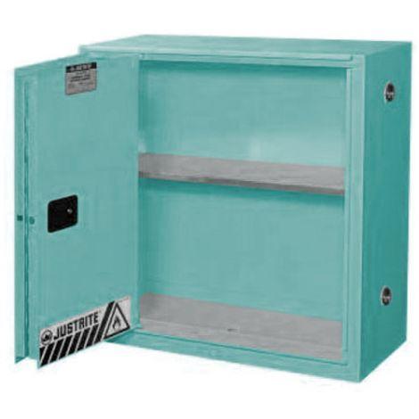 "Sure-Grip® Ex Acid/Corrosive Storage Cabinets - Capacity: 30 gal. - Width: 43"" - Depth: 18"" - Height: 44"""