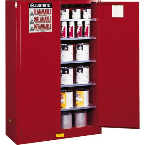Sure-Grip® EX Combustibles Safety Cabinet for Paint and Ink - Capacity: 60 gal. - Door Type: Manual