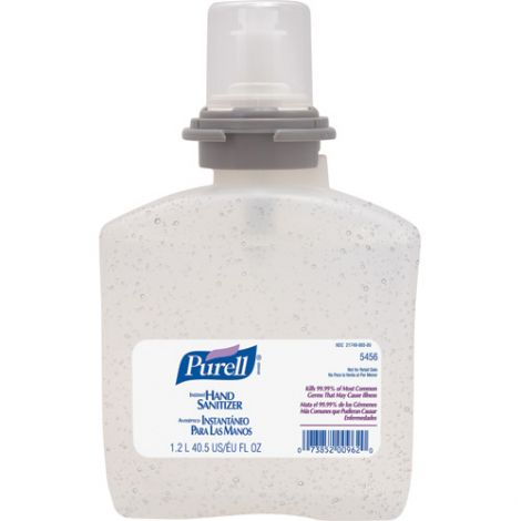 Purell® Hand Sanitizer - Container Type: Cartridge Refill - Net Volume: 1200 ml - Qty/Case: 4