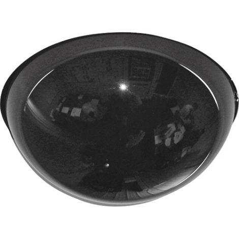"Drop Ceiling Smoked Dome Mirror - Diameter: 12"""