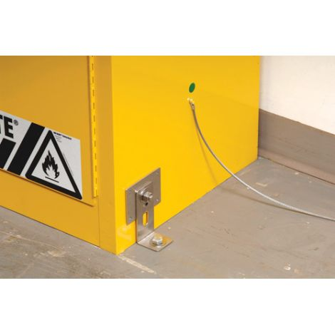 Seismic Bracket Kit to Secure Cabinet to the Wall