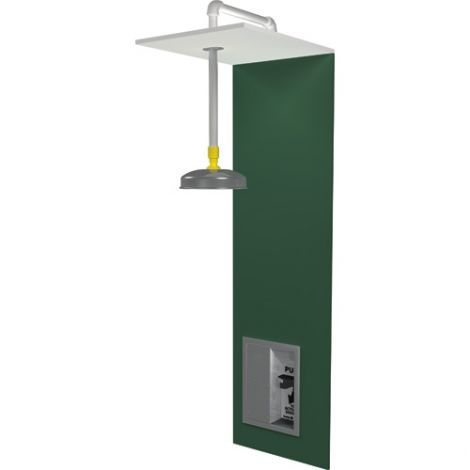 Barrier Free Recess-Mounted Emergency Shower Stations - Installation Type: Wall-Mount