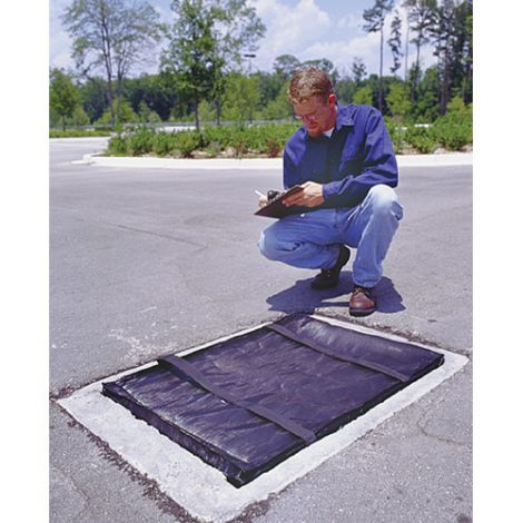 "Stormwater Grateguards Mats - Sediment Only - Length: 24"" - Width: 48"""