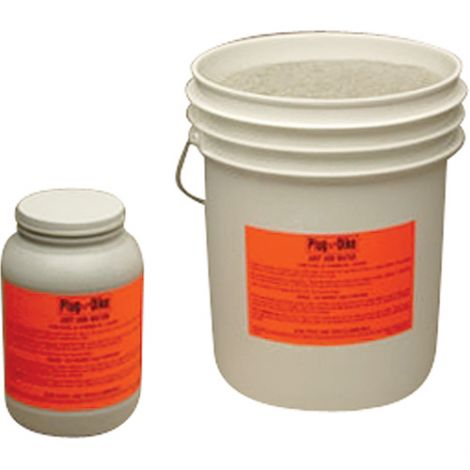 Plug N'Dike® Sealants - Type: Granular - Net Weight/Volume: 1 gal.