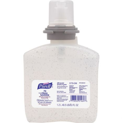 Purell® Advanced Hand Rub - Alcohol Content: 0.7 - Container Type: Cartridge Refill - Net Volume: 1200 ml - Qty/Case: 4