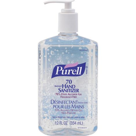 Purell® Advanced Hand Rub - Alcohol Content: 0.7 - Container Type: Pump - Bottle Net Volume: 354 ml - Qty/Case: 24