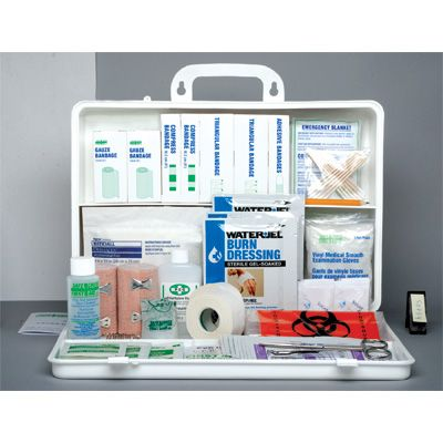 New Brunswick Regulation First Aid Kits - KIT: STANDARD - Container Type: 36-unit Plastic