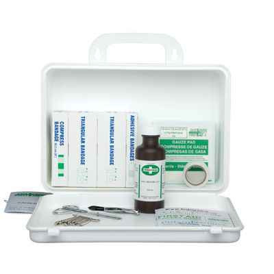 Newfoundland & Labrador Regulation First Aid Kits - FIRST AID KIT: NO. 2, 2 - 14 WORKERS - Container Type: 16-unit Plastic