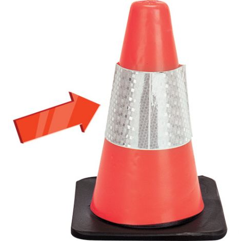 Reflective Collar for Traffic Cones
