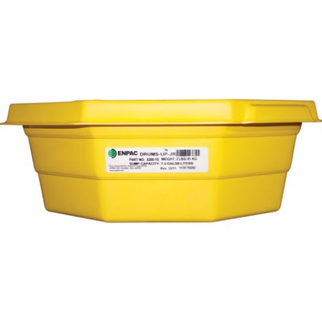 "Drums-up Jr.™ Trays  - Length: 22.75"" - Height: 7.5"" - Spill Capacity: 7.5 US gal."