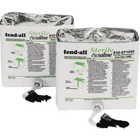 Pure Flow 1000™ Eyewash Station - Fluid Cartridges - Size: 1120 oz.