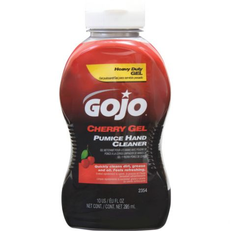 Gojo® Cherry Gel® Pumice Hand Cleaner - Type: Pumice - Container Size: 395.735 ml - Container Type: Bottle - Qty/Case: 24