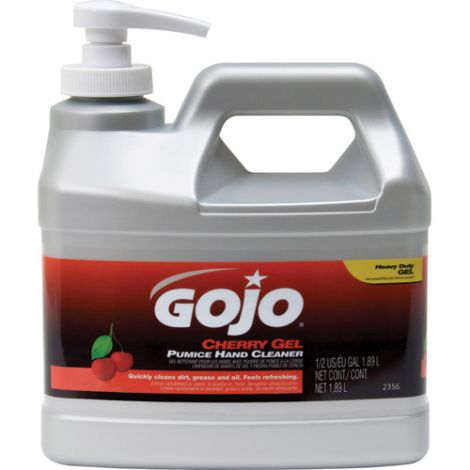 Gojo® Cherry Gel® Pumice Hand Cleaner - Type: Pumice - Container Size: 2000 ml - Container Type: Pump Bottle - Qty/Case: 8
