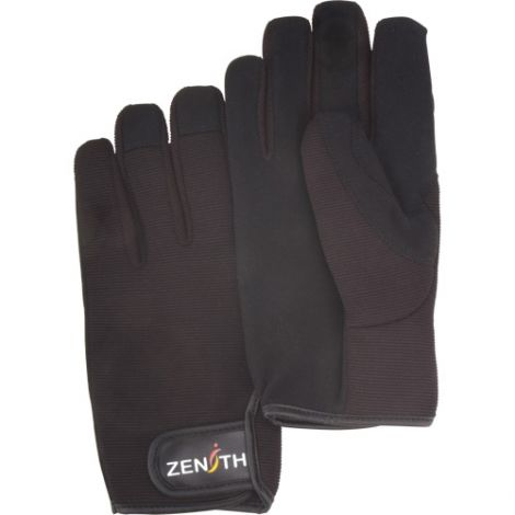 ZM100 Mechanic Gloves - Size: 2X-Large - Palm Material: Synthetic - Case Quantity: 12