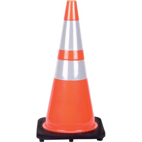 Premium Traffic Cones w/Reflective Collars - Height: 28""