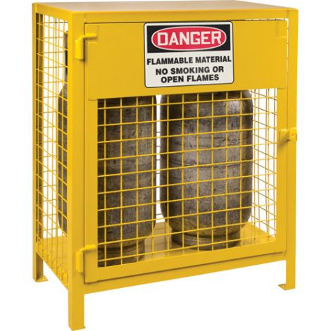 """Gas Cylinder Cabinets -  Dimensions: 30""""W x 17""""D x 37""""H - Holds: Liquid Propane (35lbs. Cylinders)"""