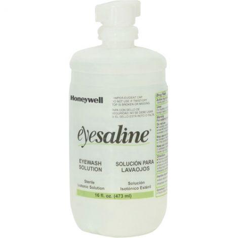 Saline Eyewash Bottles Bottle - Capacity: 16 oz. - Contents: Full - Case/Qty: 10