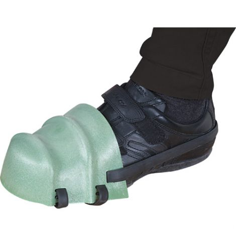 Foot Guards - Colour: Green - Size: One Size Fits All